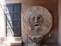 Mouth of Truth Stock photo [2436786] Italy