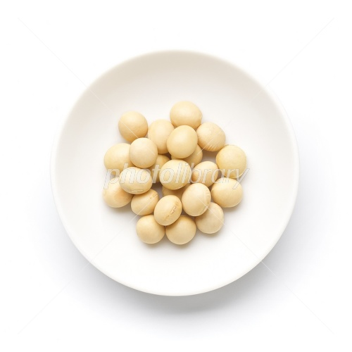 Domestic organic soybean Photo