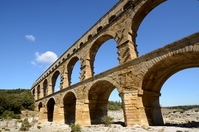 Pont du Gard Stock photo [2545571] Construction