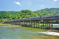 Midsummer Kyoto Arashiyama Togetsukyo Stock photo [2546053] Bridge