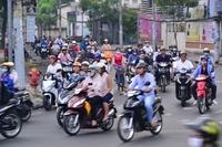 Ho Chi Minh City street corner Stock photo [2547972] Vietnam