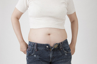 Thick eye of female waist Stock photo [2551160] Japanese