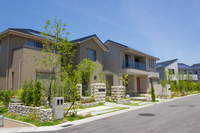 New house Stock photo [2555511] Residential