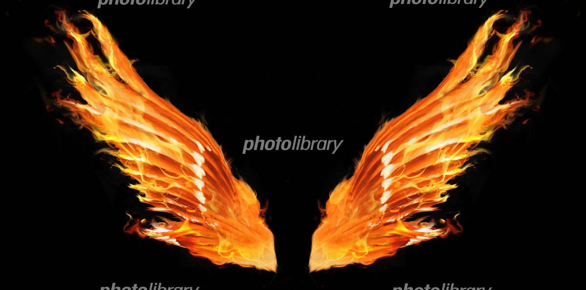 炎の翼 イラスト素材 2666535 フォトライブラリー Photolibrary