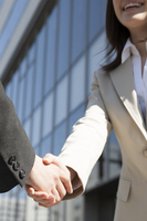 The handshake business woman Stock photo [2658636] Business