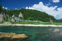 Resort Shirakami to go the summer of Gonō Line Stock photo [2660552] Line