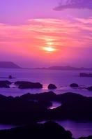 Of twilight Kujukushima Stock photo [2661279] Sunset