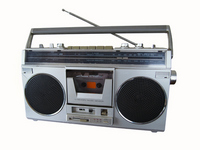 Showa Retro Boombox Stock photo [2661427] Showa