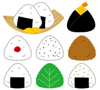 Rice ball [2663378] Rice