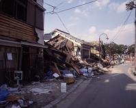 The collapsed house the Great Hanshin-Awaji Earthquake Stock photo [2669191] Japan