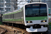 Go the curve Yamanote Line Stock photo [2743945] Yamanote