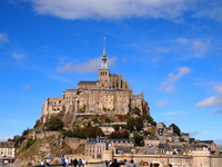 World Heritage France Mont Saint Michel Stock photo [2746446] World