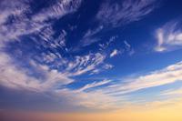 Clouds flowing through the dawn of Utsukushigahara plateau summit Stock photo [2747755] Utsukushigahara