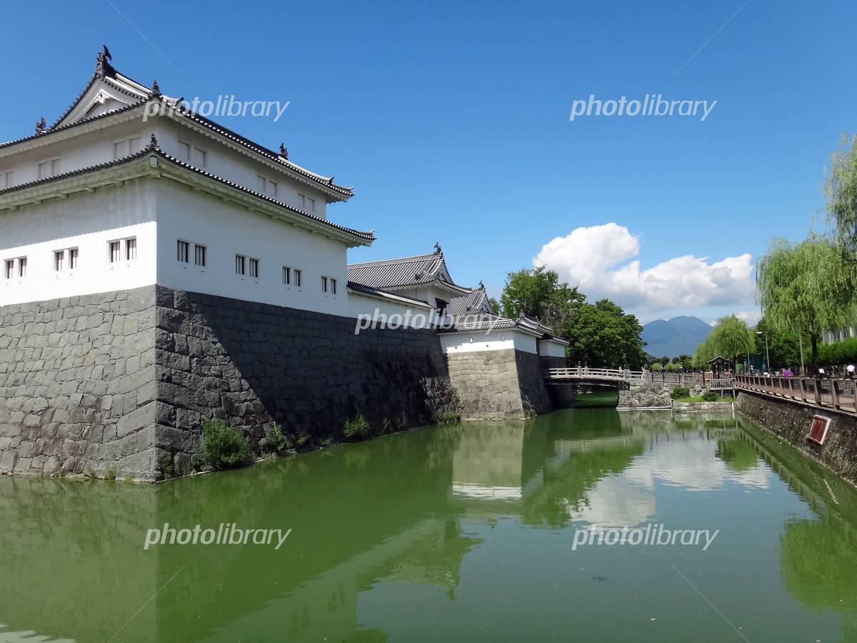 Sumpu Castle of fine weather Photo