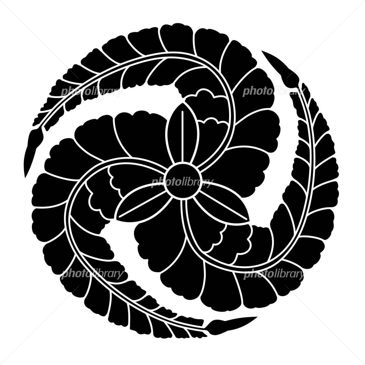 家紋 三つ藤巴 イラスト素材 2837433 フォトライブラリー Photolibrary