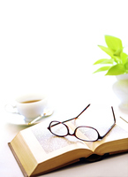 Books and glasses Stock photo [2832146] This