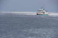 Drift ice ship Aurora Stock photo [2832371] Hokkaido