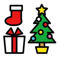 Christmas tree gift boots [2832777] Christmas