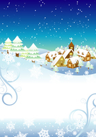 Winter background [2838818] Christmas