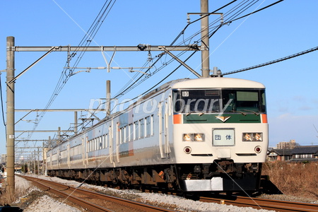 185系B3編成成田山初詣臨時列車 ...