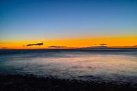 Sunrise of Izu Oshima Stock photo [2913487] Morning