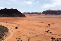 Month of the valley, desert of Wadi Rum Stock photo [2917835] Desert