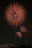 Todabashi fireworks Stock photo [2918636] Arakawa