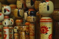 Kokeshi of Naruko Stock photo [2918870] Kokeshi