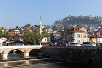 Sarajevo, Latin Bridge Stock photo [2920091] Bosnia