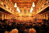 Austria Vienna Musikverein curtain before Stock photo [2920905] Austria