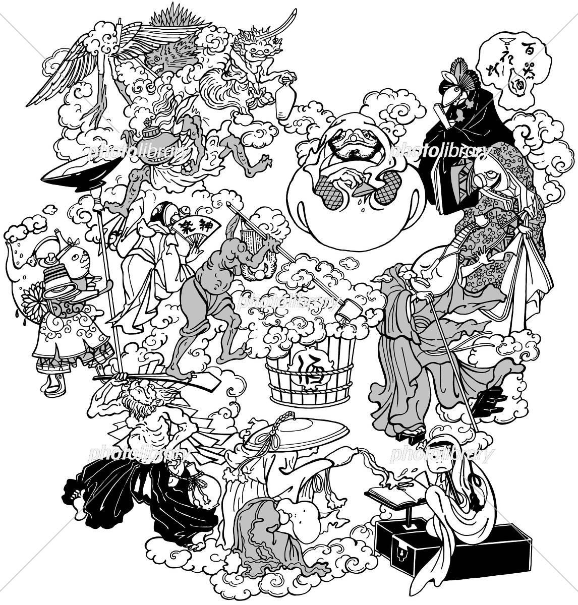 妖怪 イラスト素材 3000683 フォトライブラリー Photolibrary
