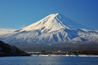 Kawaguchiko and Mount Fuji Stock photo [2997620] Lake