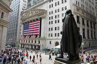 Stock Exchange on Wall Street in New York Stock photo [2999100] New