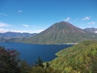 Chuzenji and Nantaisan Stock photo [2999447] Lake
