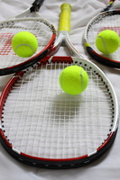 Tennis ball and racket Stock photo [2999600] Tennis