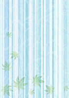 Summer of maple Japanese paper background [2999718] Summer