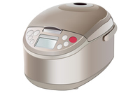 Rice cooker of illustrations [3002040] Rice