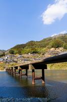 Iwama of Low water crossing Stock photo [3002930] Bridge,