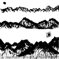 The continuous mountains Sumi [3076837] The