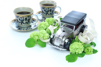 Mari Ode Father's Day and Classic Car and coffee Stock photo [3077549] Father's