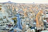Cappadocia of town Stock photo [3086597] Cappadocia