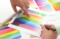 Field of design and production - meeting Stock photo [3171408] Color