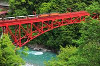 Toyama Prefecture Kurobe Gorge Railway Stock photo [3173854] Hokuriku