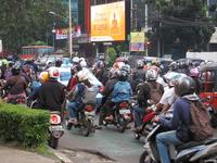 Congestion in Jakarta bike Stock photo [3174034] Indonesia