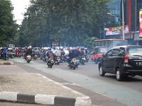 Jakarta traffic Stock photo [3177422] Indonesia