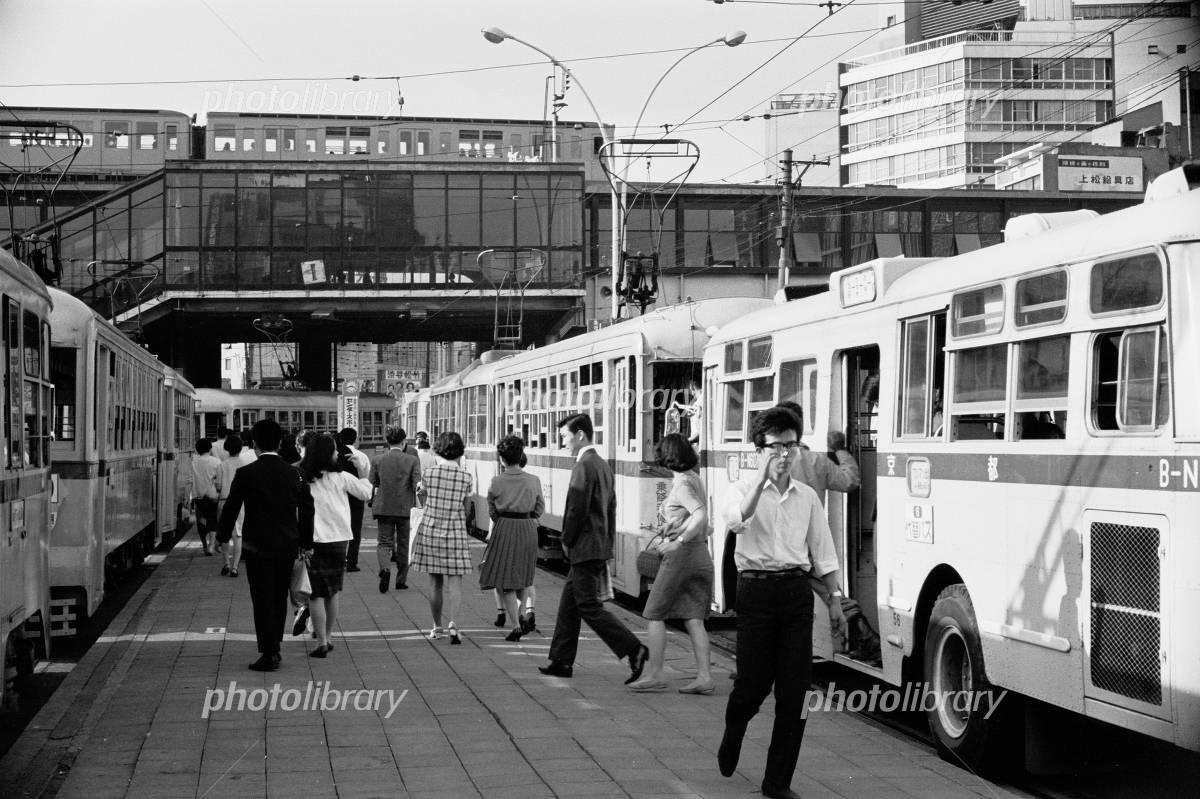 都電渋谷駅 1968年 写真素材 [ 3284547 ] - フォトライブラリー ...