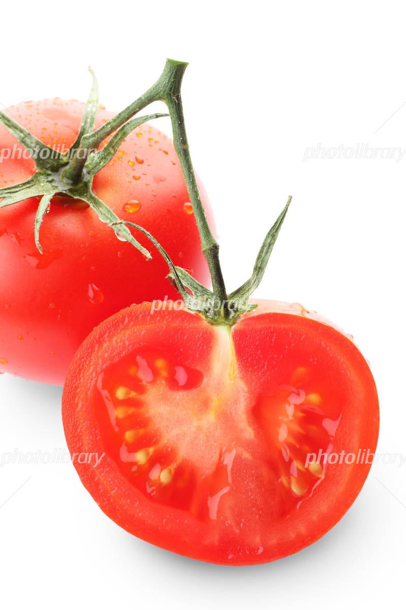 トマトの断面 写真素材 フォトライブラリー Photolibrary
