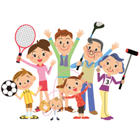 Sports in family [3281400] Tennis