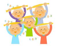 Senior gymnastics [3284353] Zinnia