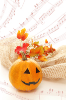 Synthesis of Halloween Jack O Lantern and music Stock photo [3289551] Halloween